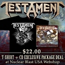 Nuclear Blast Records T-Shirt + CD Deal