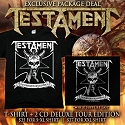 Nuclear Blast Records T-Shirt + CD Deal - Deluxe Tour Edition