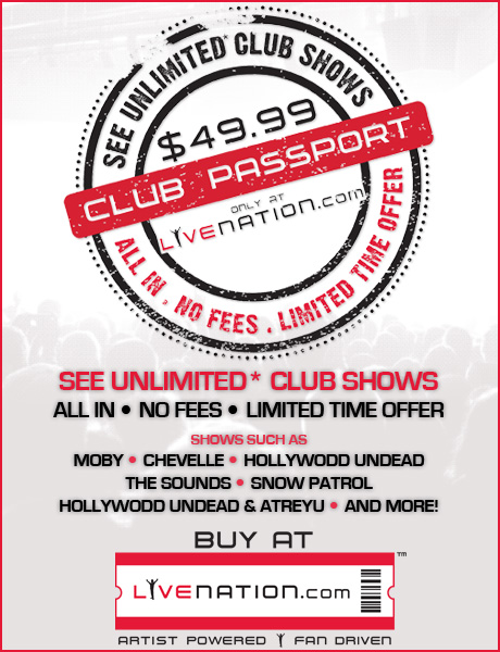 LiveNation Club Passport