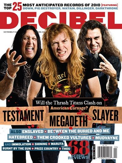 Decibel Magazine Cover