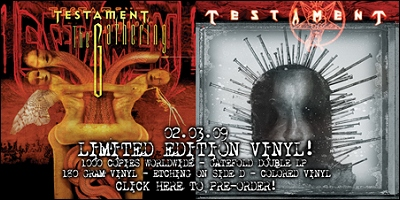 Testament Prosthetic Records Store