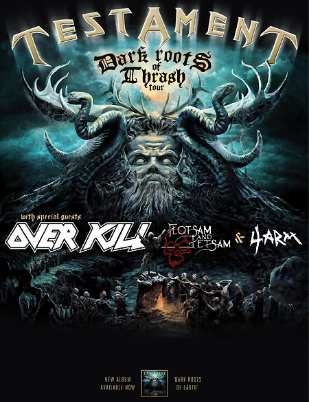 Dark Roots of Thrash Tour 2013