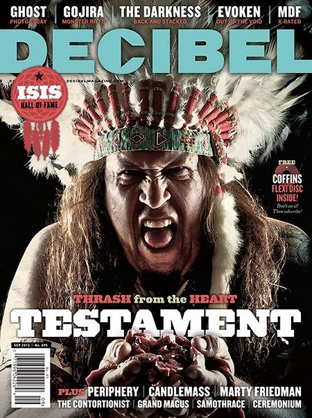 Decibel, September 2012 cover (U.S.)