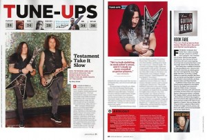 Guitar World, August 2012 article (U.S.)