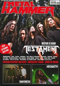 Metal Hammer Italia, July-August 2012 cover (Italy)