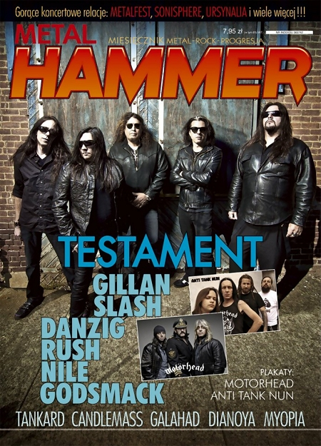 Metal Hammer Polska, July 2012 cover (Poland)