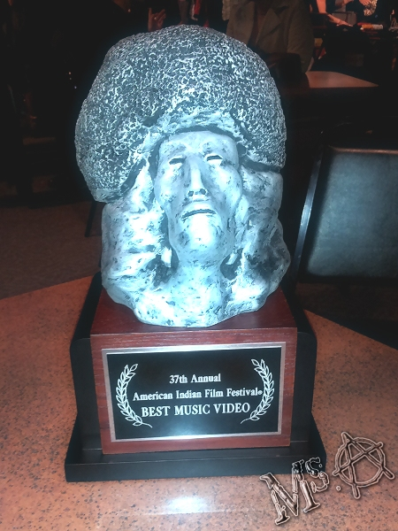 The Award! AIFF 2012 Best Music Video