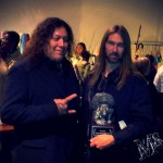 Testament&#039;s Chuck Billy and video Director Mike Sloat