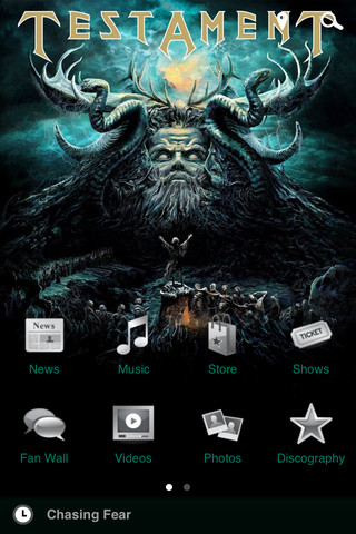 Testament Smartphone App