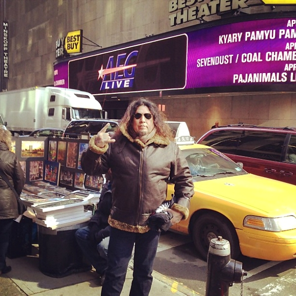 Chuck Billy in NYC