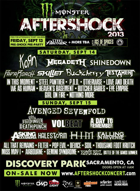 Aftershock flyer