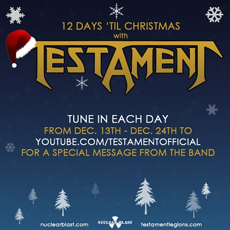 12 Days 'til Christmas with Testament