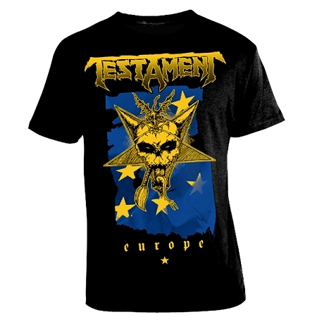 European Tour 2014 t-shirt