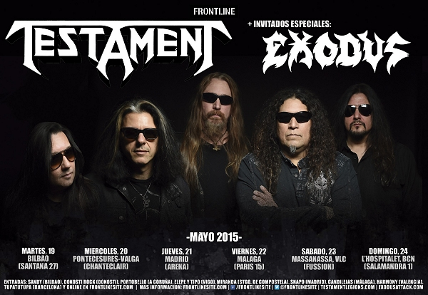 Testament in Spain 2015