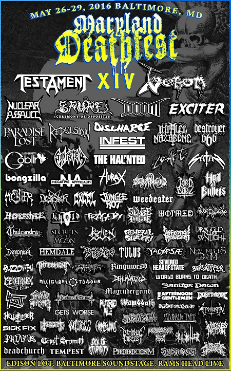 Maryland Deathfest XIV