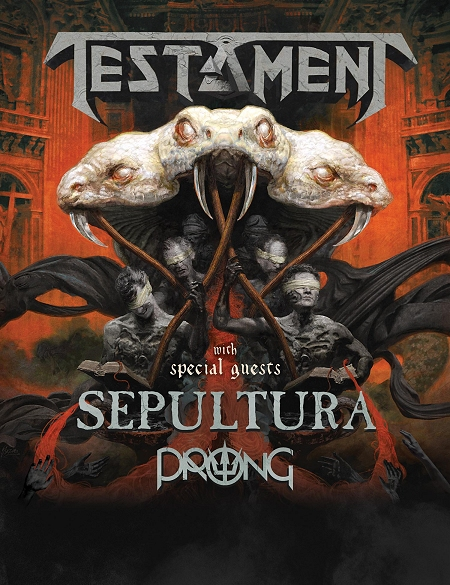 Testament + Sepultura + Prong
